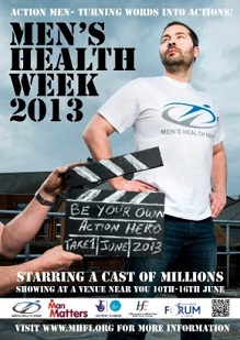 Poster for Men's Health Week 2013